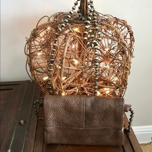 Free People leather bag with detachable strap